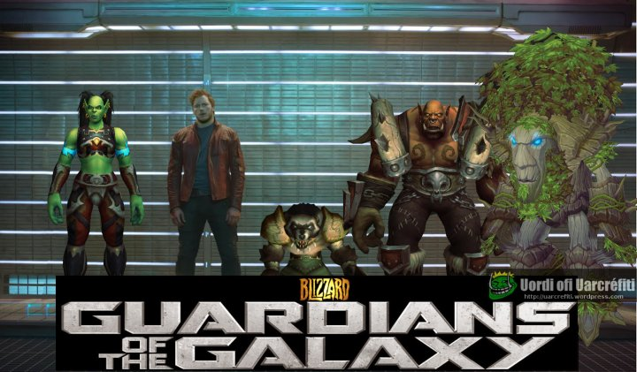 Guardians of the Galaxy Warcraft